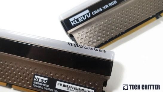 KLEVV CRAS XR RGB DDR4 4000 5