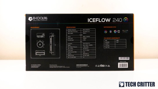 ID Cooling ICEFLOW 240 1