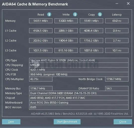 ADATA XPG Spectrix D60G XMP AIDA64