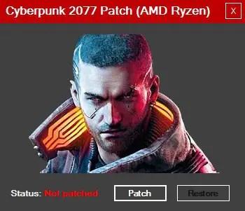 AMD Ryzen Cyberpunk 2077 patch tool Tech Critter 2