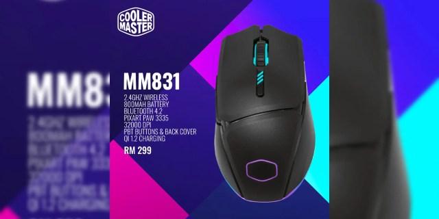 Cooler Master MM831