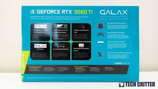 GALAX RTX 3060 Ti EX 1