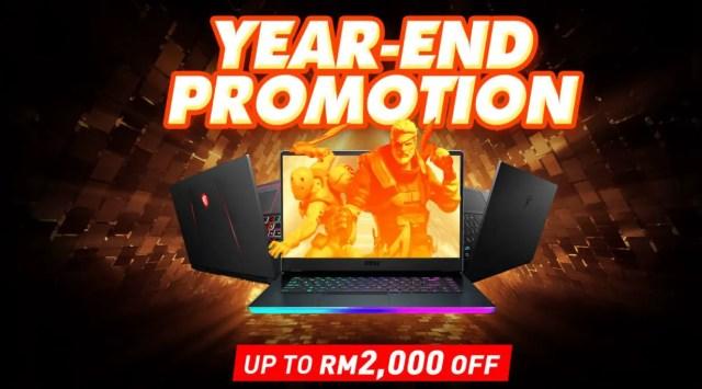 NVIDIA GeForce MSI Holiday Promotion