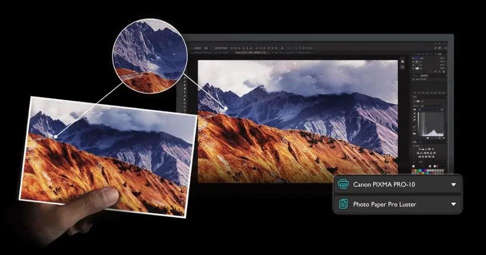 BenQ PhotoVue SW321C Color Space