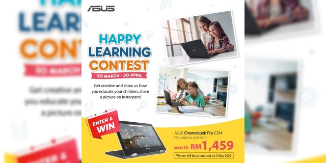 ASUS Happy Learning Contest Featured