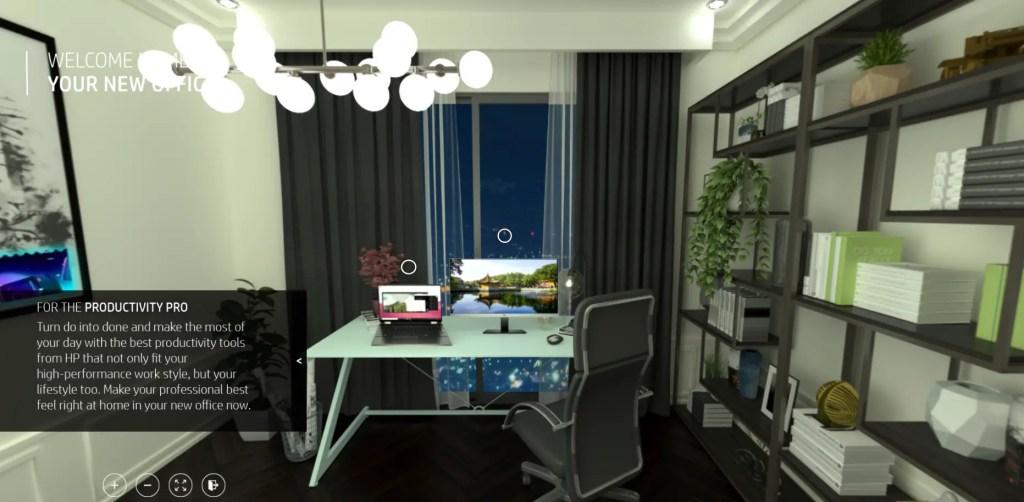 Hp Virtual Showroom Office