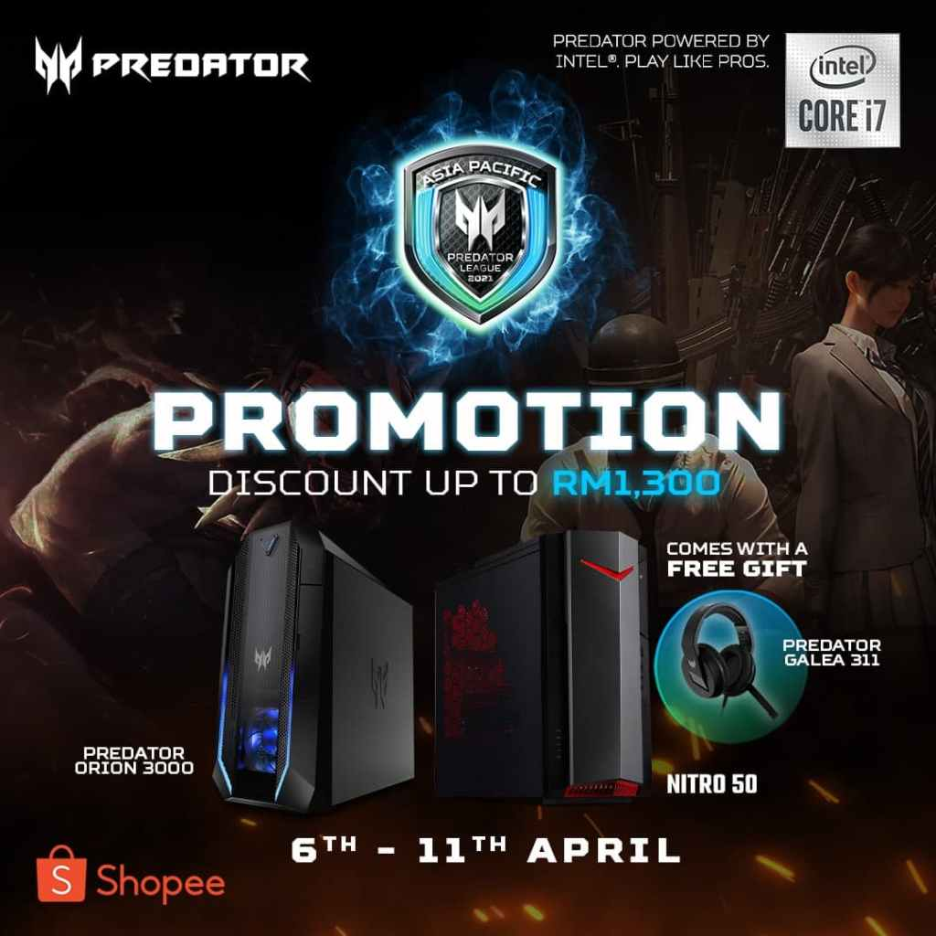 Acer Asia Pacific Predator League 2020 21 Promotion