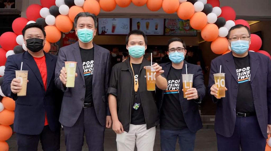 Orange Esport x Liho Tea Malaysia 1
