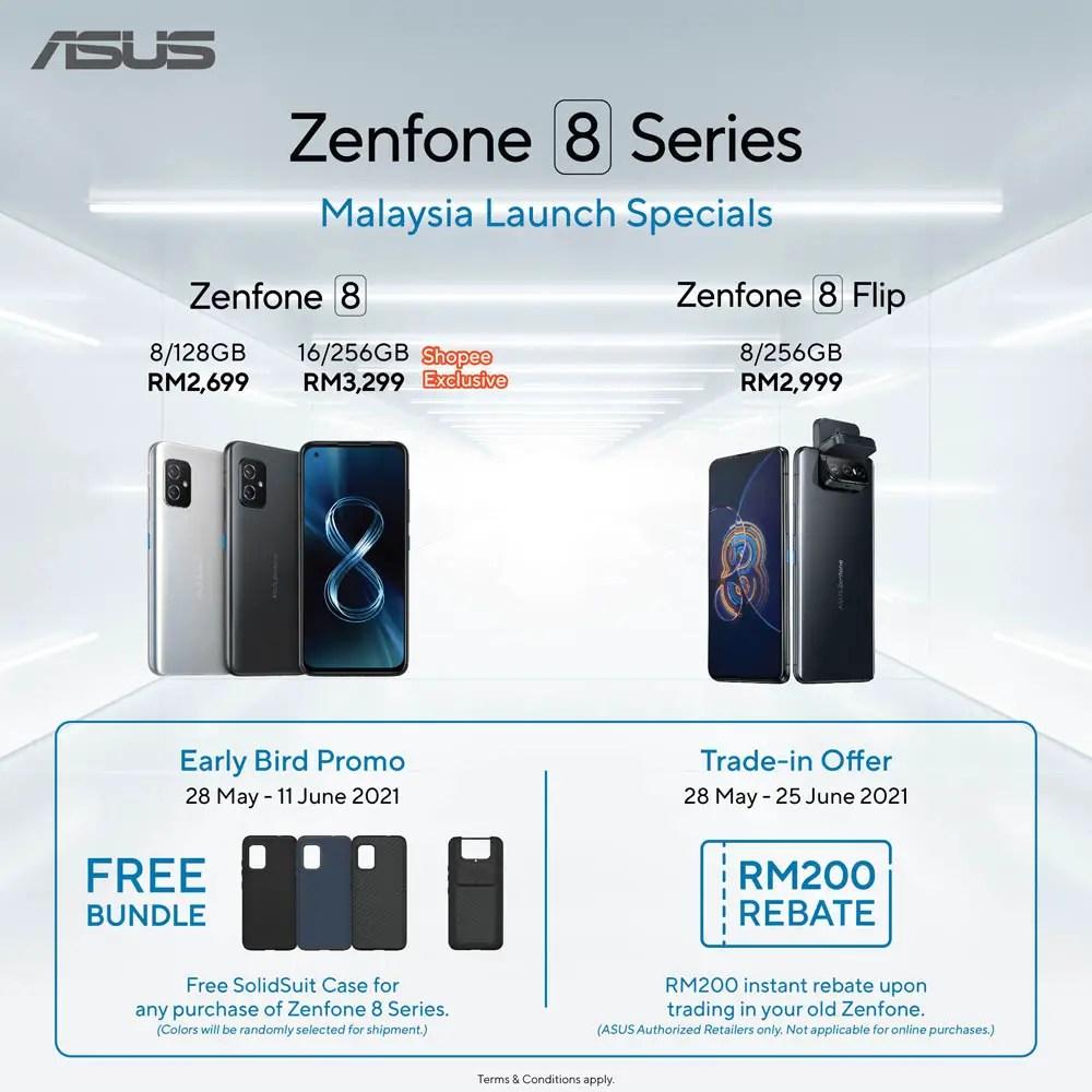 ASUS Zenfone 8 Series Price