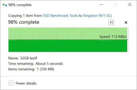 Kingston NV1 Copy from SSD 32GB b