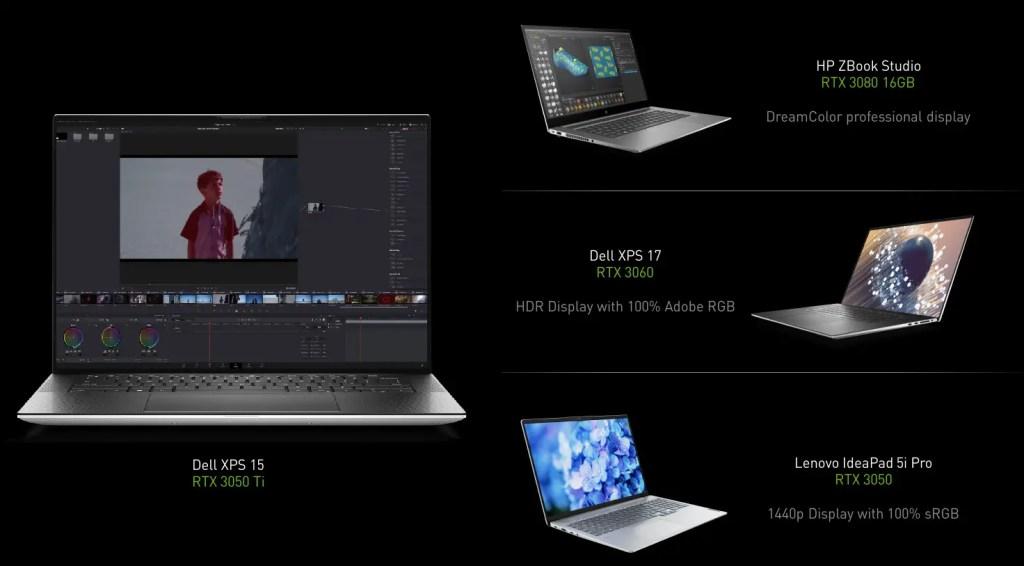 NVIDIA Studio Laptop