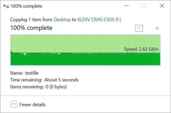 KLEVV CRAS C920 Copy from SSDa