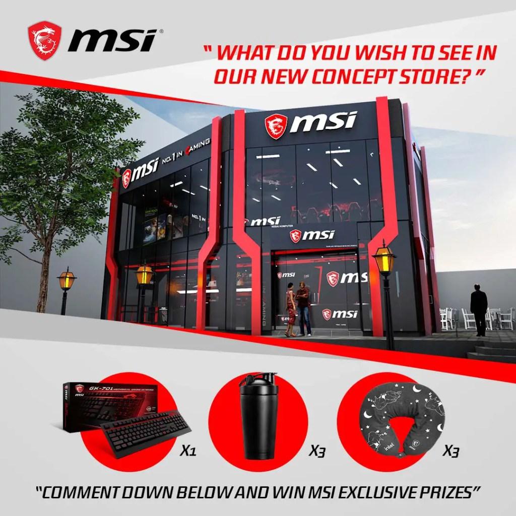 MSI Concept Store 1