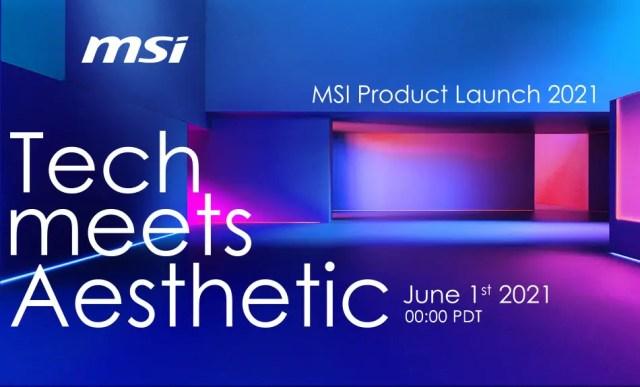 MSI Tech Meets Aesthetics