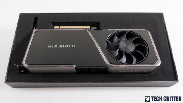 NVIDIA GeForce RTX 3070 Ti Founders Edition 3