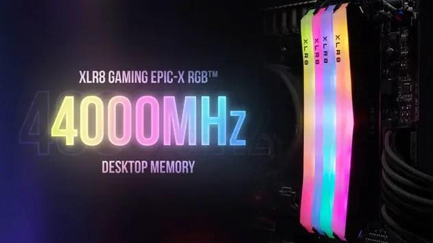 PNY XLR8 Gaming EPIC X RGB DDR4 RAM