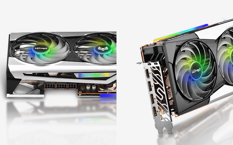 SAPPHIRE Nitro AMD Radeon RX 6900 XT SE Power Port