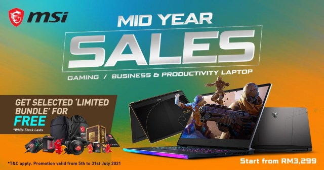 MSI Mid Year Sale Featured