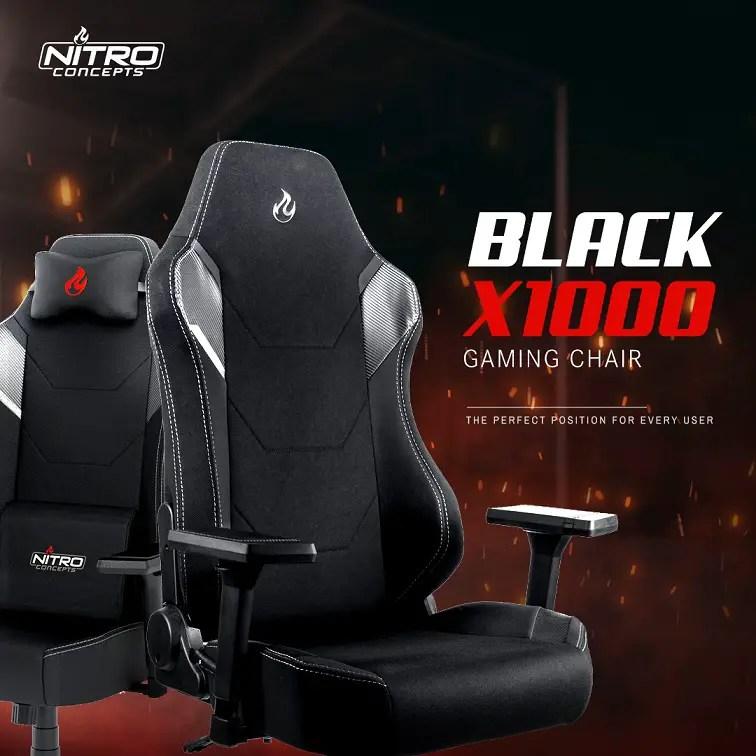 Nitro Concepts Black X1000