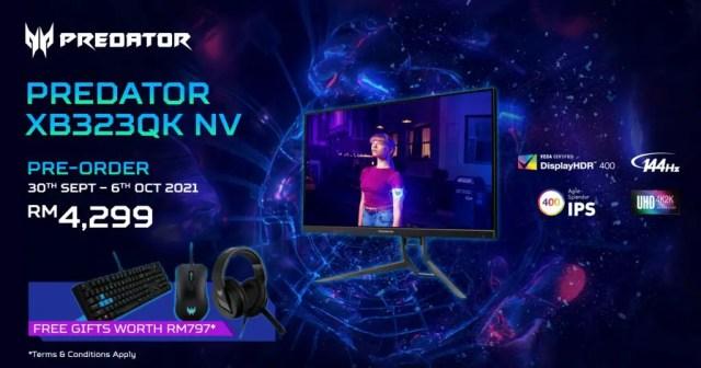 Acer Predator XB323QK NV