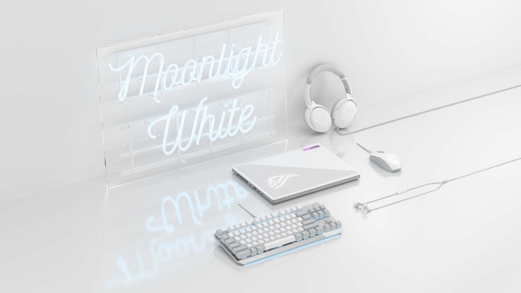 ASUS ROG Moonlight White Peripherals
