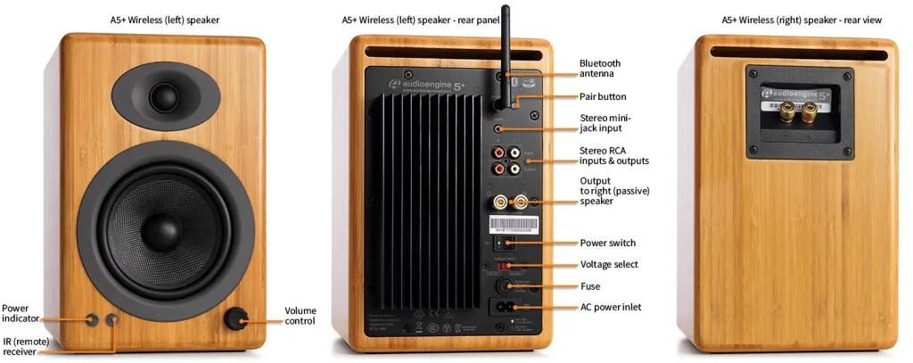Review - Audioengine A5+ Wireless Speaker System 2