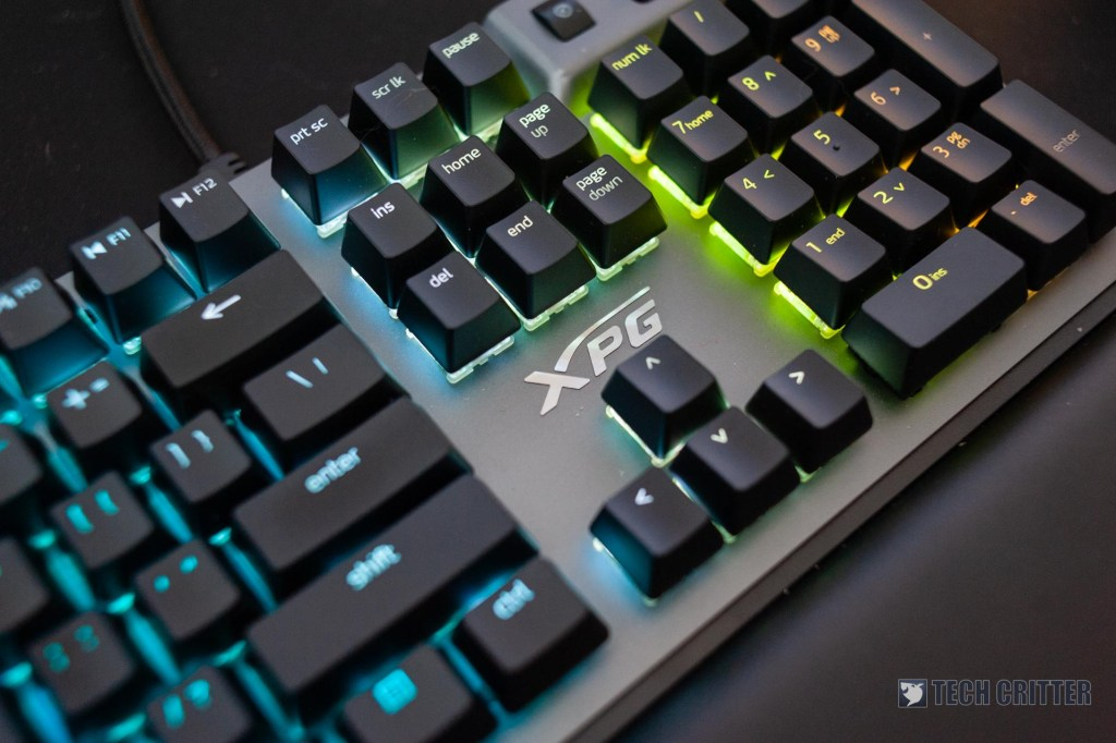 Review - ADATA XPG SUMMONER RGB Gaming Keyboard 45