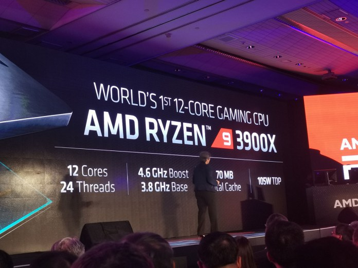 AMD confirms Ryzen 9 3900X availability on July 7 for $499