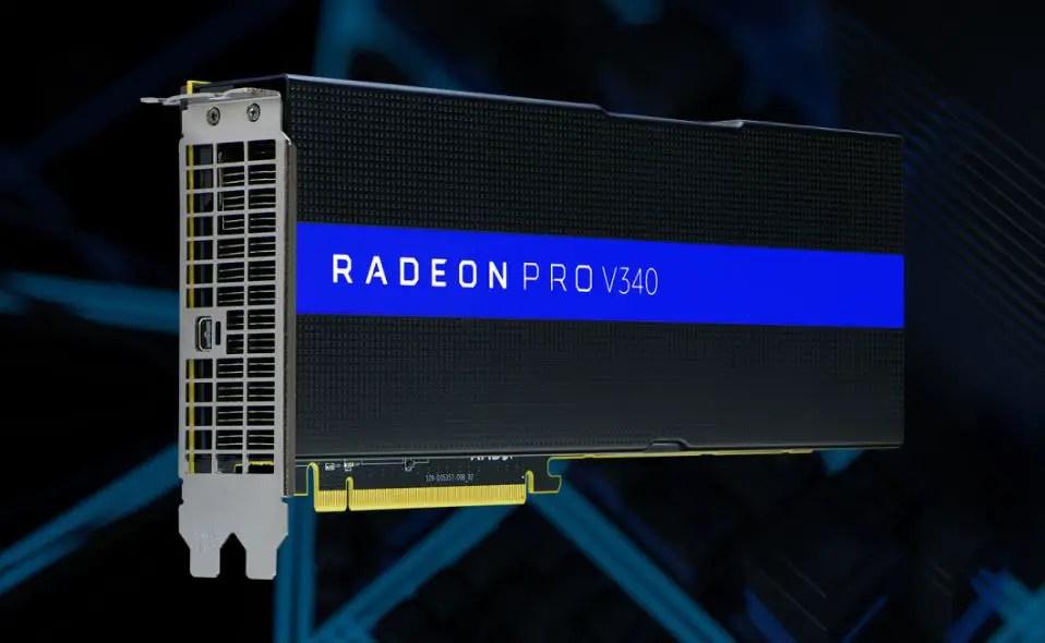 AMD Announced Radeon Pro V340 With Dual-GPU