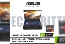 ASUS FX505 Ryzen 5 3550H + NVIDIA GeForce GTX 1650 leak