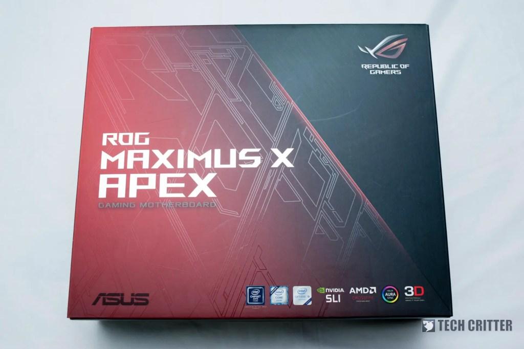ASUS ROG Maximus X Apex