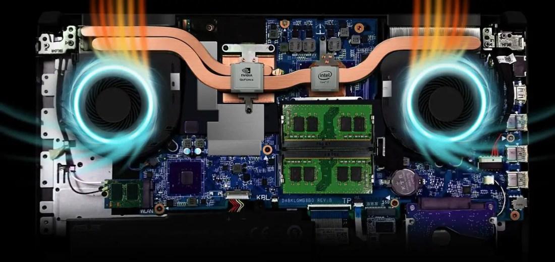 ASUS TUF Gaming FX504 HyperCool