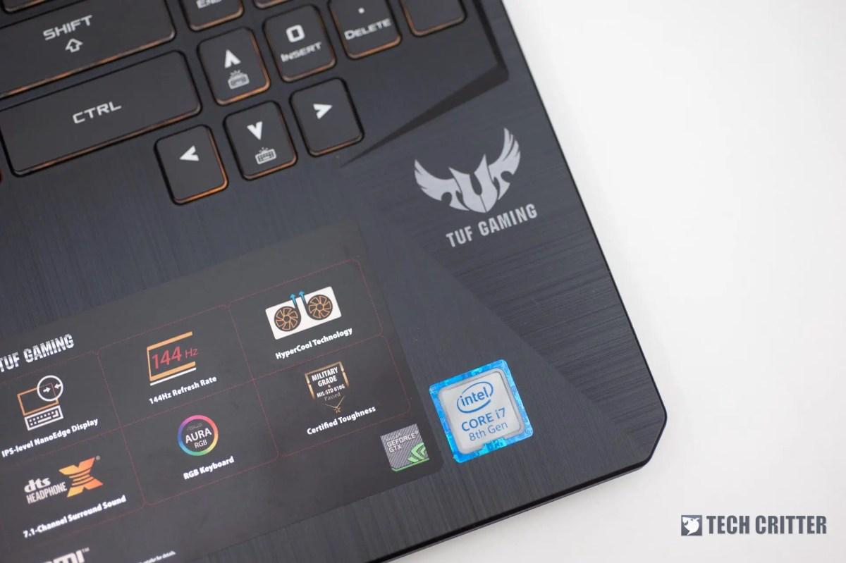 Review - ASUS TUF Gaming FX505