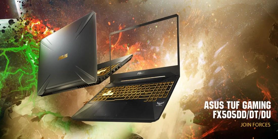 ASUS TUF Gaming FX505 GTX 1650 GTX 1660 Ti Featured