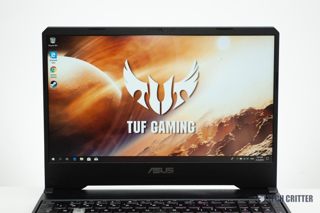 Review - ASUS TUF Gaming FX505D (Ryzen 7 3750H, GTX 1660 Ti, 8GB, 512GB SSD) 4
