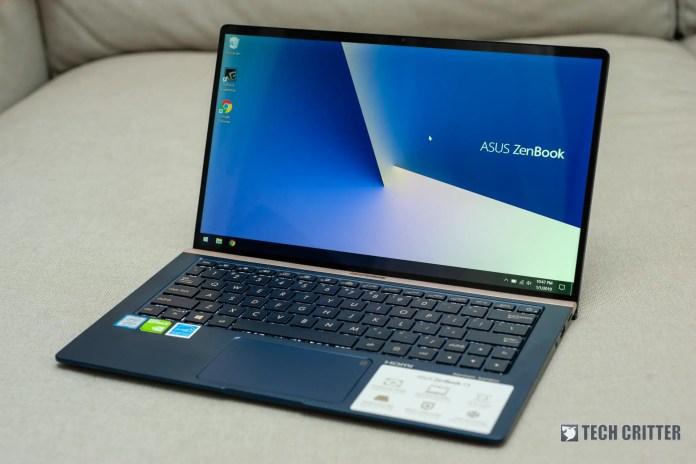 Review - ASUS ZenBook 13 UX333F (i5-8265U, 8GB, 512GB, MX150)