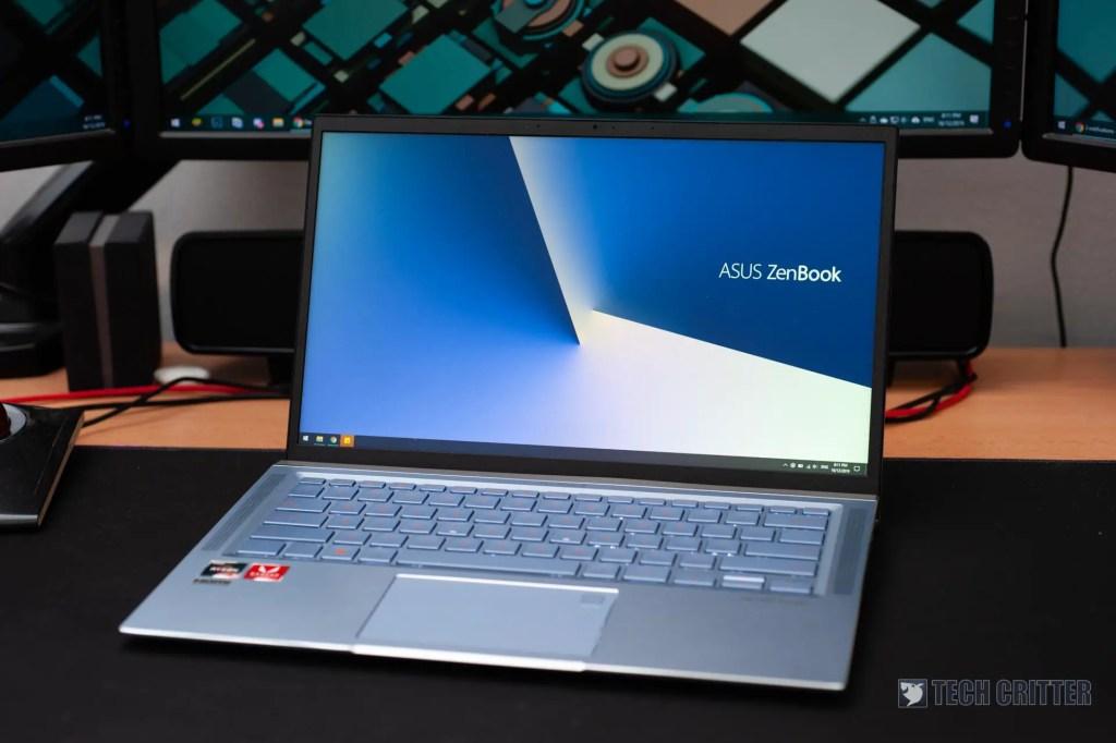 Review - ASUS ZenBook 14 UM431D (R5-3500U, Radeon Vega 8, 8GB DDR4-2400, 512GB PCIe Gen3x2) 17