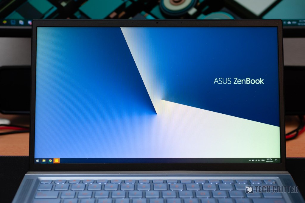 Review - ASUS ZenBook 14 UM431D (R5-3500U, Radeon Vega 8, 8GB DDR4-2400, 512GB PCIe Gen3x2) 6
