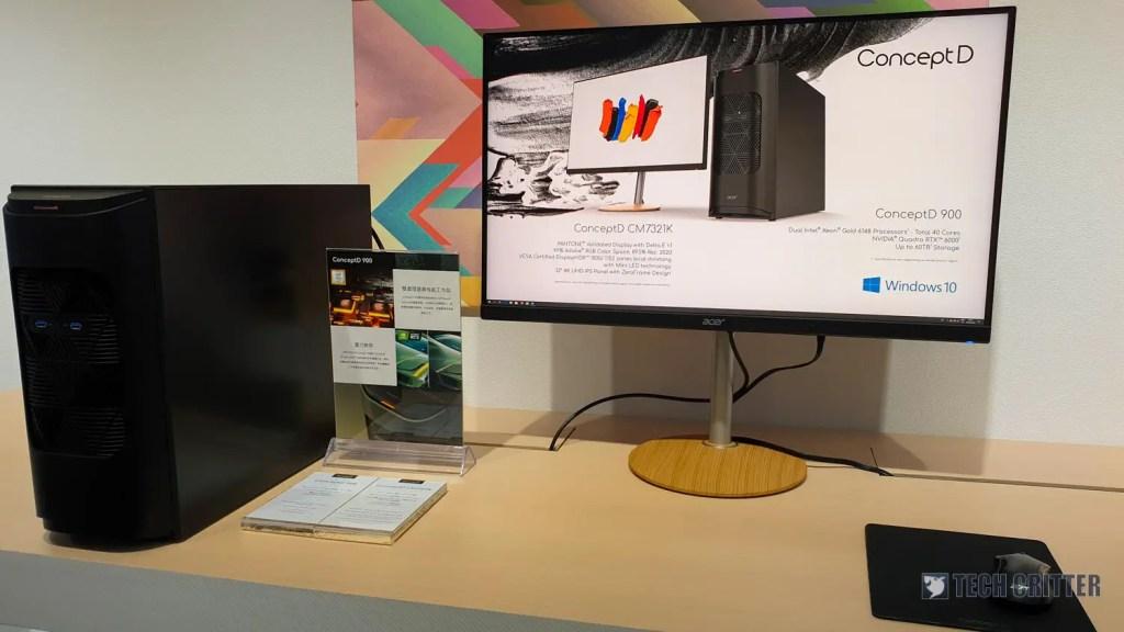 Acer ConceptD CM7321K Computex 2019