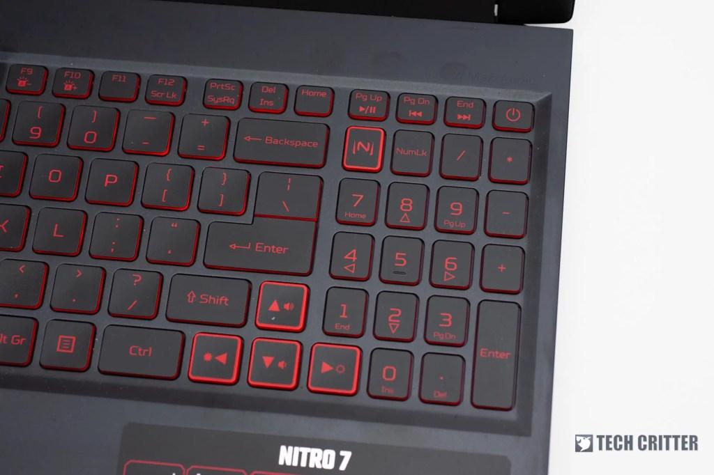 Review - Acer Nitro 7 (i7-9750H, GTX 1660 Ti, 8GB DDR4, 256GB NVMe SSD) 25