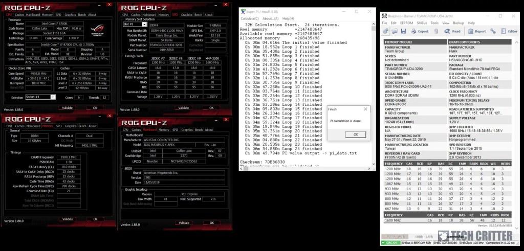 CPU-Z Teamgroup Nighthawk DDR4 RGB SuperPi 32M (4)