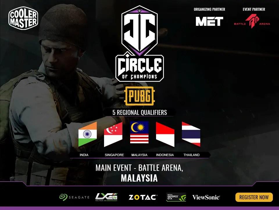 Cooler Master Circle of Champions Banner