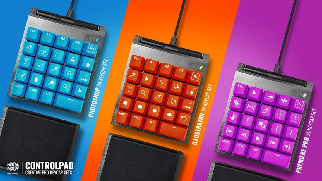Cooler Master ControlPad Kickstarter Creatives