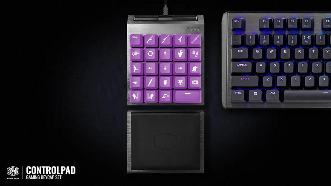 Cooler Master ControlPad Kickstarter gamer