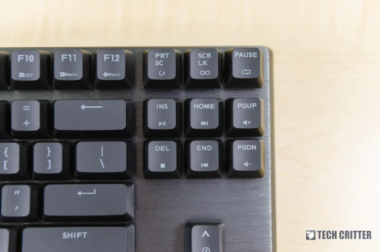Review - Cooler Master MK730 TKL mechanical gaming keyboard