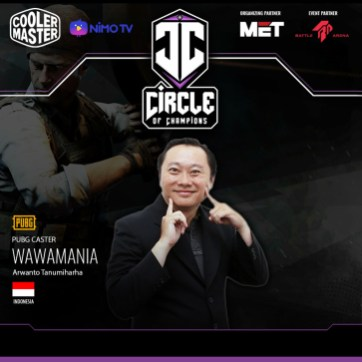 Cooler Master Regional Circle of Champions Qualifiers Caster (Indonesia)