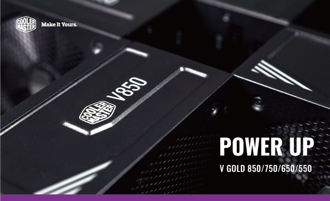 Cooler Master V Gold Series Power Supply Unit Featured