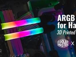 Cooler Master x AK MOD ARGB Tube Mod Featured