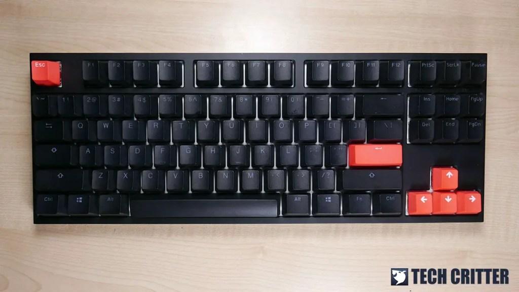 Ducky One 2 RGB TKL RGB LED Double Shot PBT Mechanical Keyboard (11)