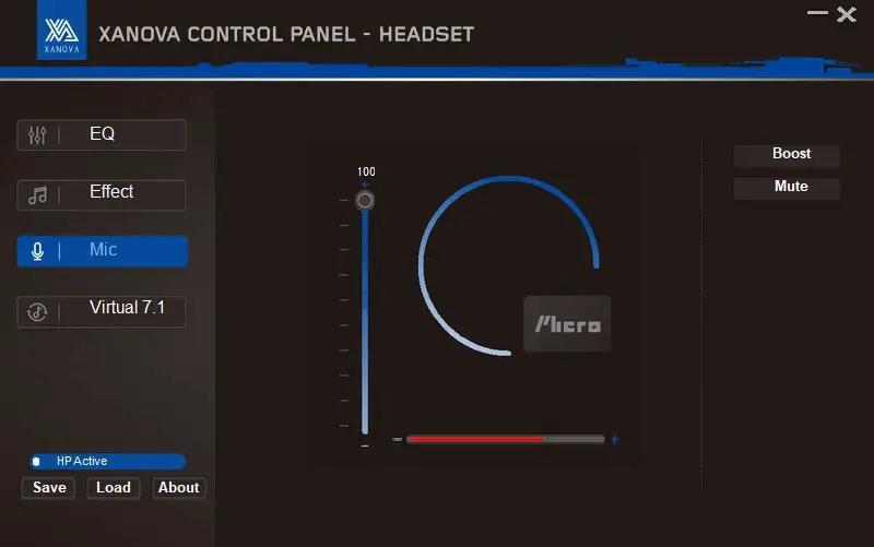 GALAX XANOVA Juturna-U control panel